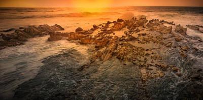 Coastal Rocks Art Print