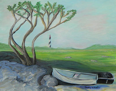 Painting - Coastal Saint  Augustine by Patty Weeks