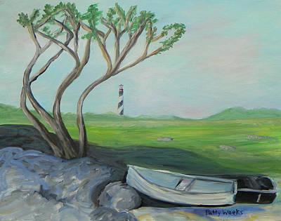 Painting - Coastal Saint  Augustine by Patty Weeks