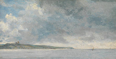 Painting - Coastal Scene With Cliffs by John Constable