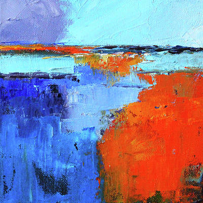 Painting - Coastal Storm by Nancy Merkle
