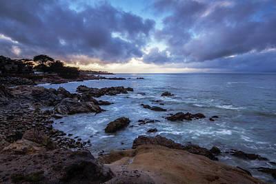 Photograph - Coastal Storm Over Monterey Bay by Eleanor Caputo