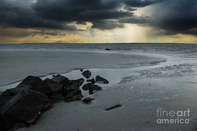 Photograph - Coastal Storm Warning by Dale Powell
