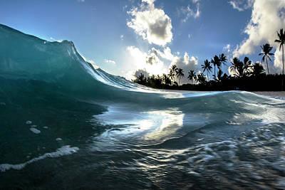 Photograph - Coastal Surge by Sean Davey