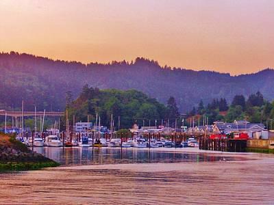 Photograph - Coastal Town by Marilyn Diaz
