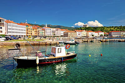 Photograph - Coastal Town Of Senj View by Brch Photography