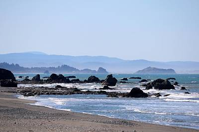 Photograph - Coastal View At Harris Beach State Park - 3 by Christy Pooschke