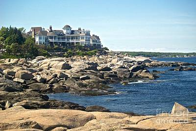 Painting - Coastal View Maine by Paul Galante