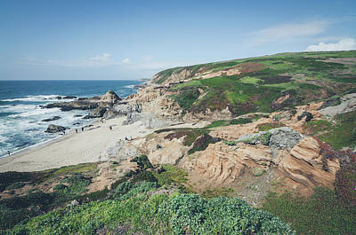 Photograph - Coastal Views At Bodega Bay by Margaret Pitcher