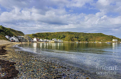 Photograph - Coastal Village by Ian Mitchell