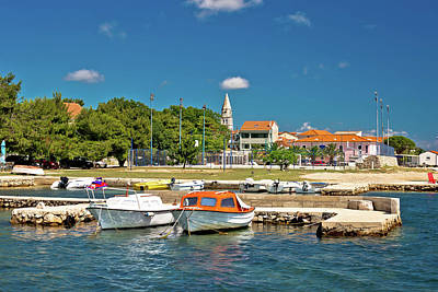 Photograph - Coastal Village Of Sveti Filip I Jakov  by Brch Photography