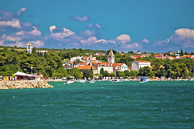Photograph - Coastal Village Of Sveti Filip I Jakov Waterfront by Brch Photography