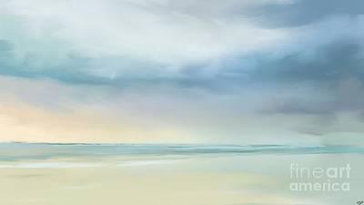 Coastal Vista Art Print by Anthony Fishburne
