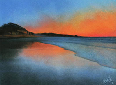 Coastal Walk Vii  Art Print by Robin Street-Morris