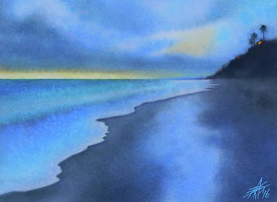 Painting - Coastal Walk Vi by Robin Street-Morris
