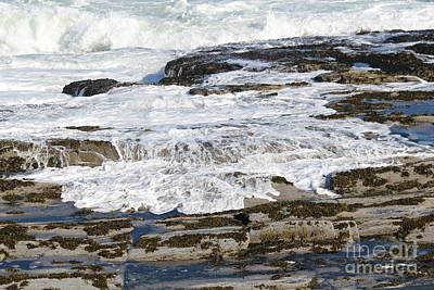 Photograph - Coastal Washout by Theresa Willingham