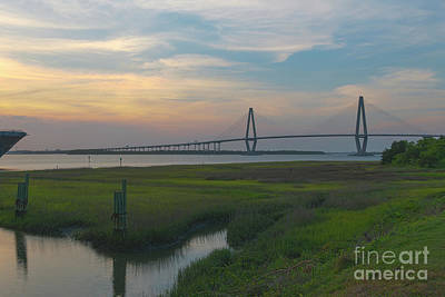 Photograph - Coastal Water Of Charleston by Dale Powell