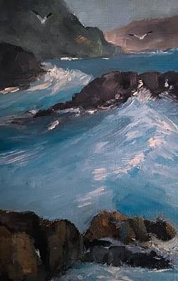 Painting - Coastal Waves  by Michele Carter