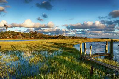 Photograph - Coastal Wet Lands by Jody Merritt