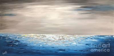 Painting - Coastal_1 by Preethi Mathialagan