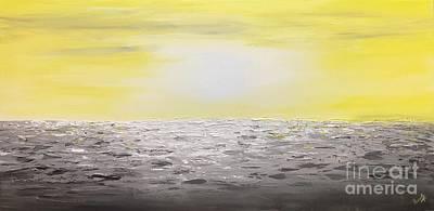 Painting - Coastal_2 by Preethi Mathialagan