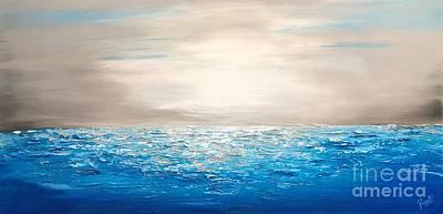 Painting - Coastal_4 by Preethi Mathialagan