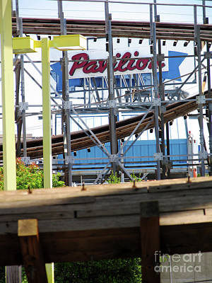 Photograph - Coaster Pavilion Sign by David Smith