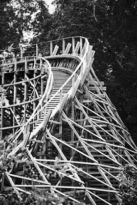 Roller Coaster Photograph - Coasting by Christi Kraft