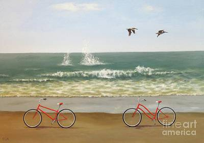Painting - Coasting by Phyllis Andrews