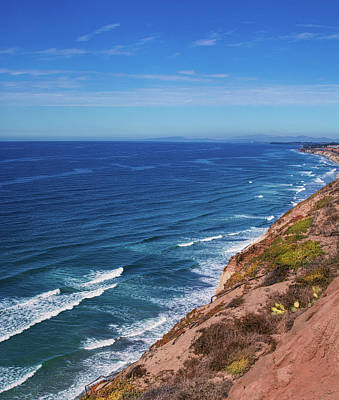 Photograph - Coastline At Torrey Pines by Randy J Heath