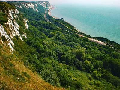 Photograph - Coastline, Folkestone, Kent, England by Samuel Pye