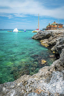 Photograph - Coastline In Montego Bay by Debbie Ann Powell