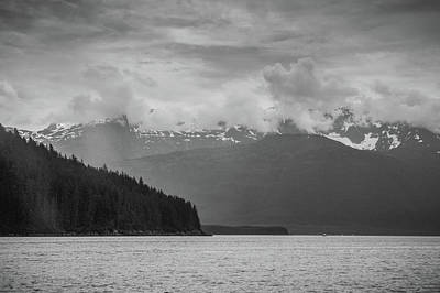 Photograph - Coastline, Inside Passage by David Halperin