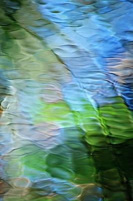 Photograph - Coastline Mosaic Abstract Art by Christina Rollo