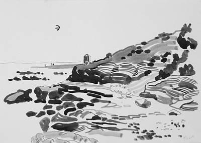 Coastline Of The Spain Art Print by Vitali Komarov
