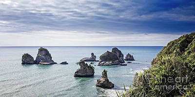 Photograph - Coastline Stacks by Scott Kemper