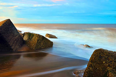 Coastline Art Print by Svetlana Sewell