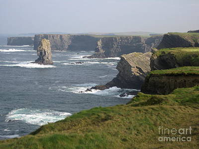 Photograph - Coasts Of Clare 3 by Suzanne Oesterling