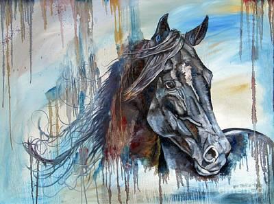 Painting - Coat Of Many Colors by Heidi Parmelee-Pratt