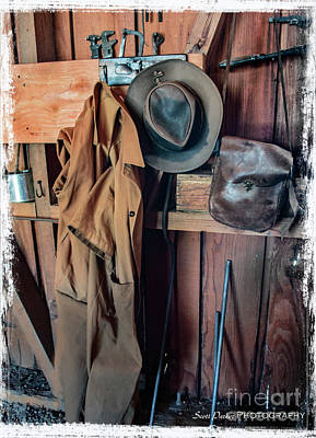 Photograph - Coat Rack Still Life by Scott Parker