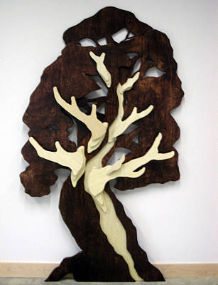 Sculpture - Coat Tree by John Gibbs