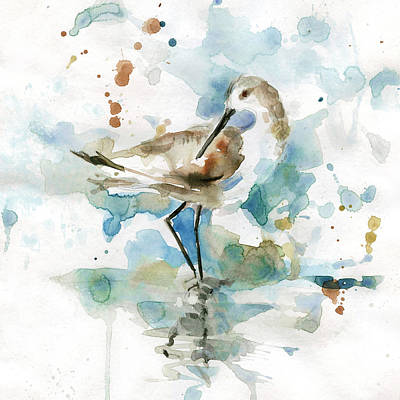 Sandpiper Painting - Coatal Sandpiper 2 by Carol Robinson