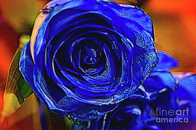 Photograph - Cobalt Blue by Diana Mary Sharpton