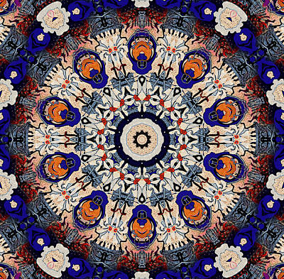 Painting - Cobalt Blue Mandala by Natalie Holland
