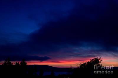 Sunset Photograph - Cobalt Evening by Sverre Andreas Fekjan