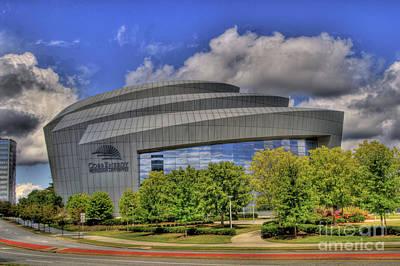 Cobb Energy Center Art Print by Corky Willis Atlanta Photography