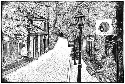 Cobb Lane Print by Greg Smith
