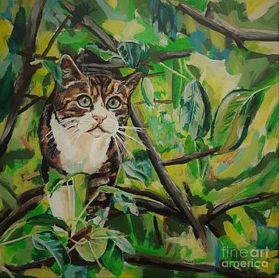 Painting - Cobber De Kat by Cami Lee