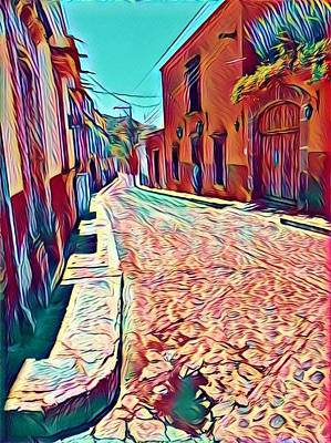Photograph - Cobbled Road by Mary McGrath