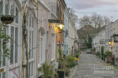 Photograph - Cobbled Street In London by Patricia Hofmeester